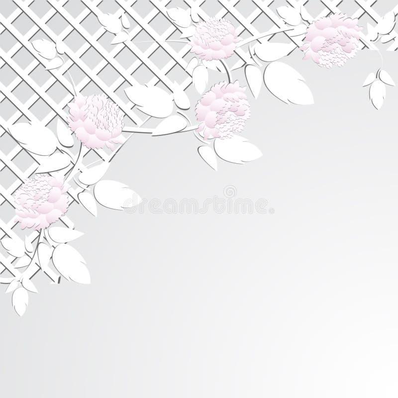 Pivoine rose 2 illustration de vecteur
