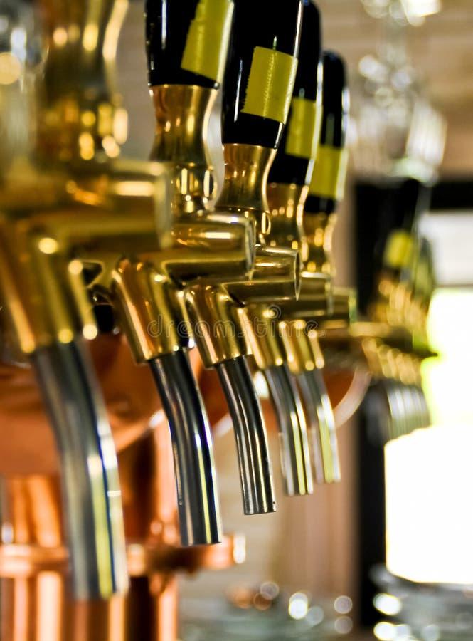 Piwa klepnięcie fotografia stock