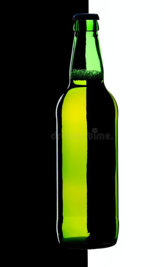 piwna butelka fotografia stock