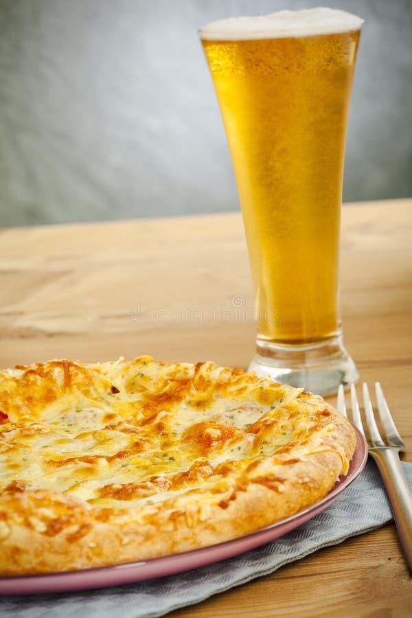 piwna pizza fotografia royalty free