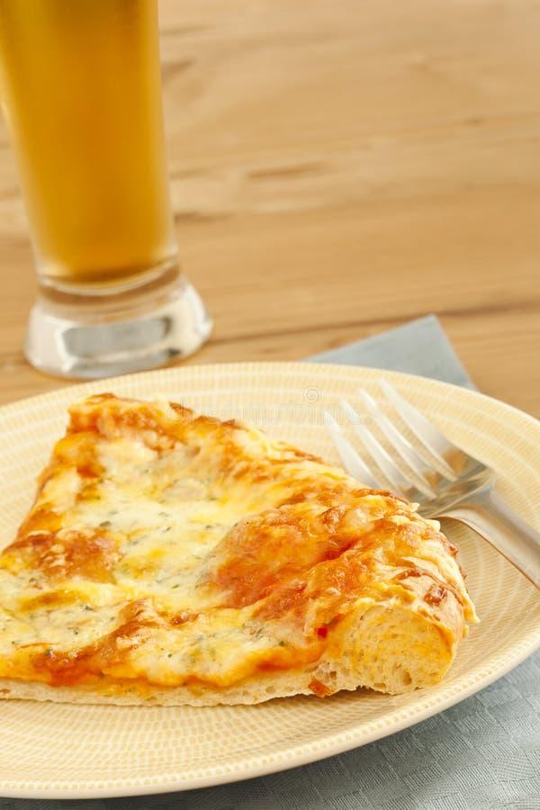 piwna pizza fotografia stock