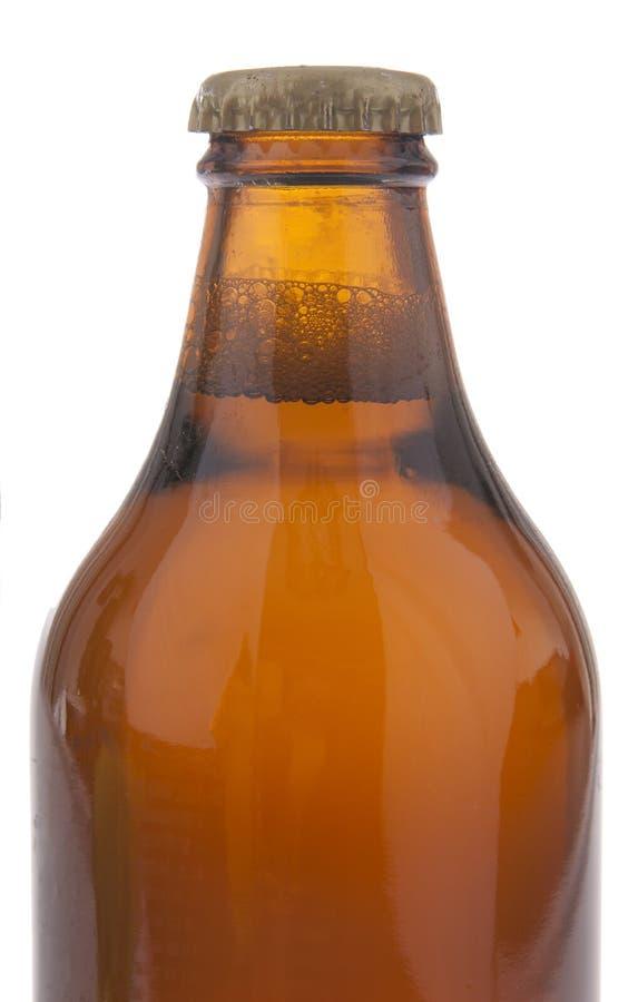piwna pusta butelka zdjęcia stock