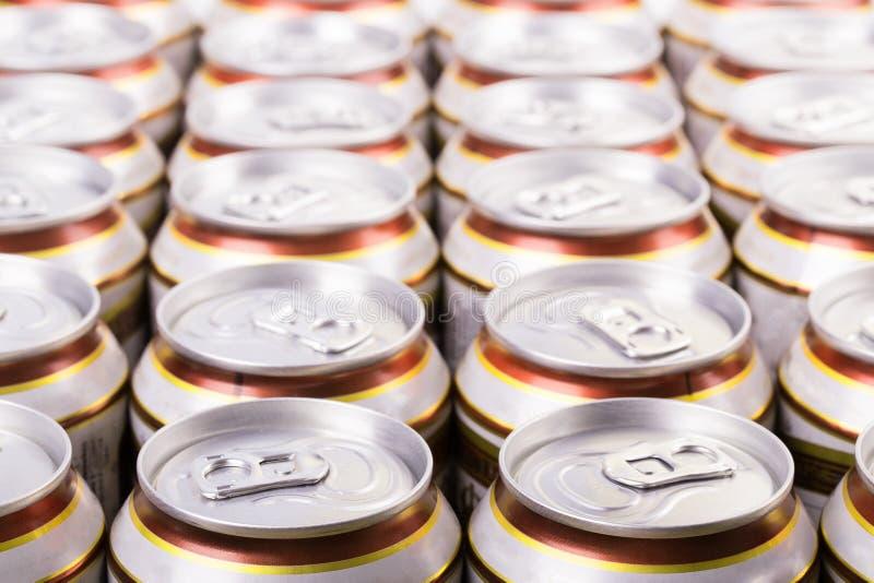 Piwna puszka obrazy stock