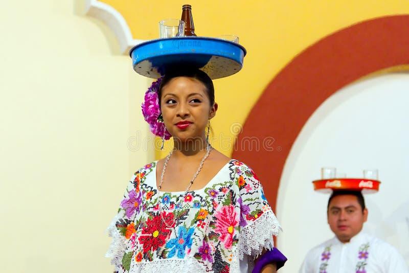 Piwna Tana Meksykanina Taca Zdjęcie Editorial