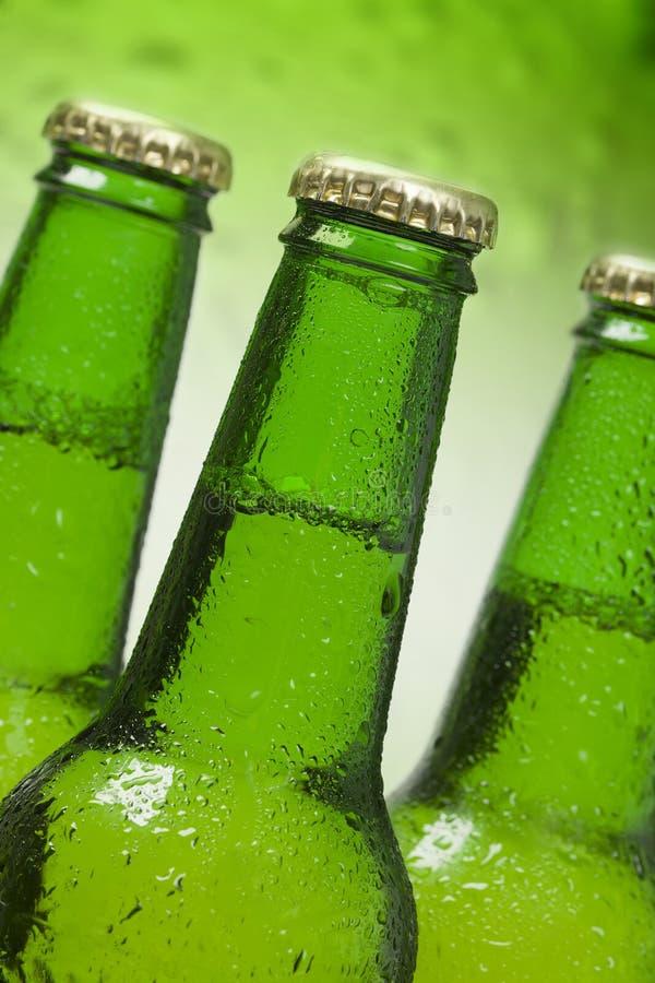 piwne butelki obraz stock