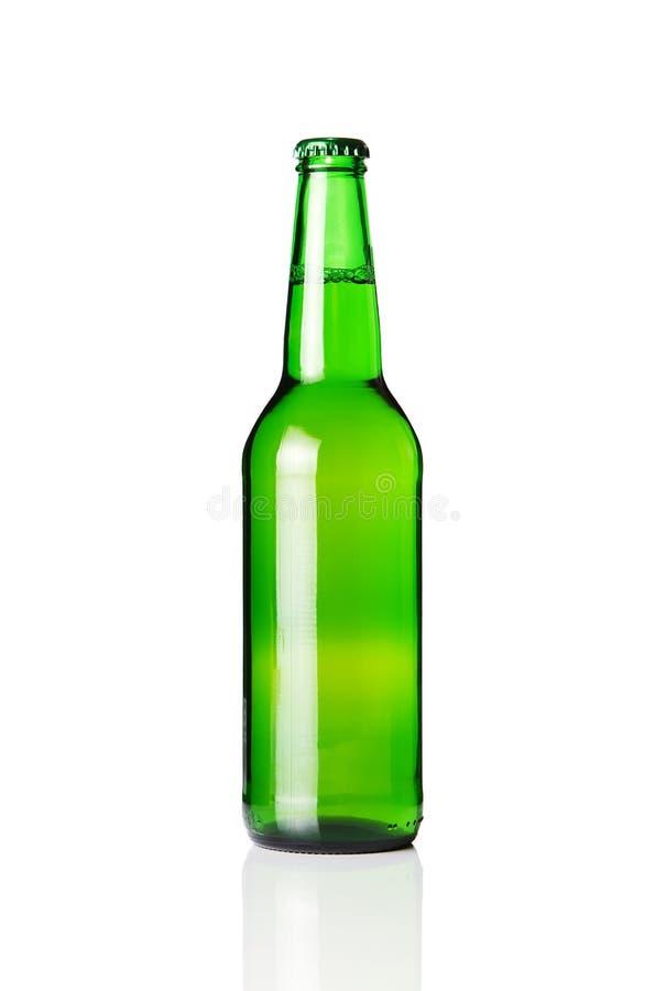 piwnej butelki zieleń zdjęcie royalty free