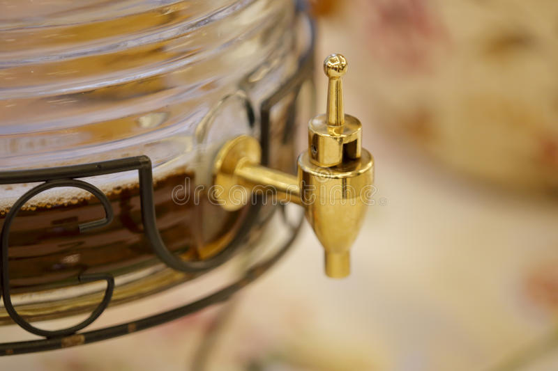 Piwny faucet obrazy royalty free