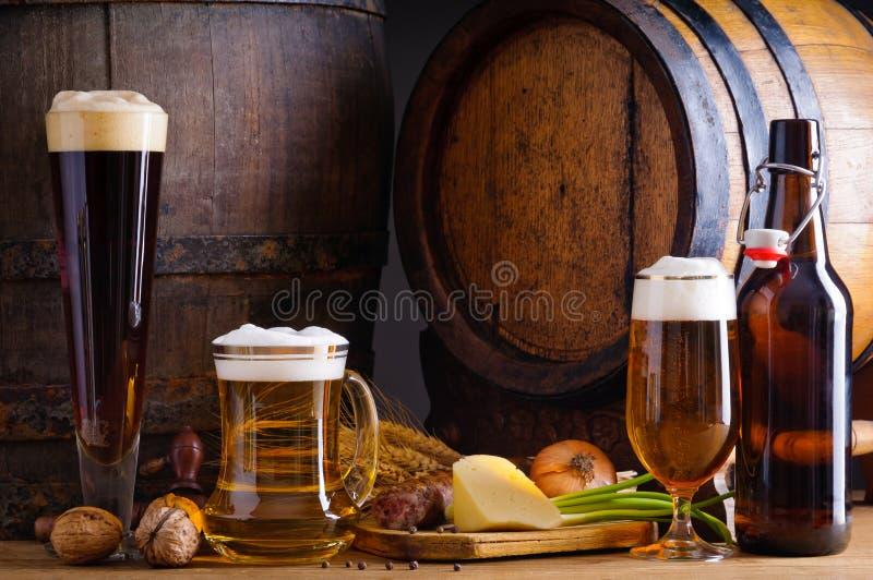 piwny karmowy tradycyjny zdjęcia stock
