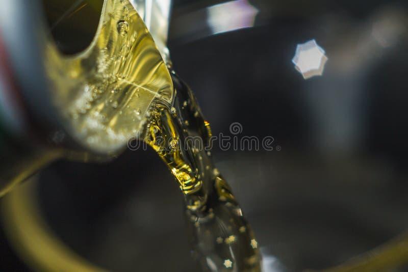Piwny zakończenie makro- zdjęcia stock