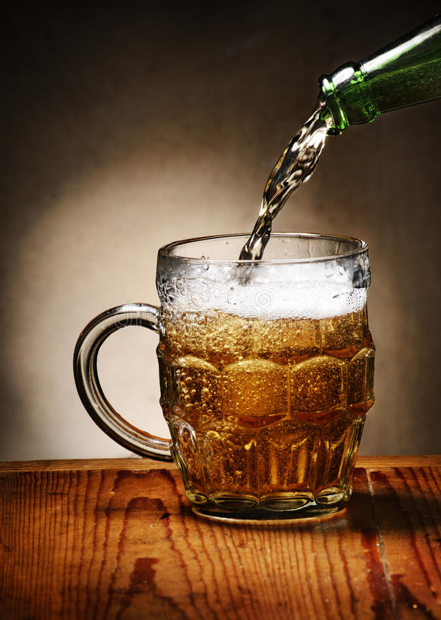 Piwo zdjęcie stock