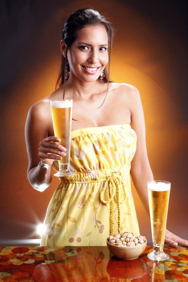 piwo złoty obraz stock