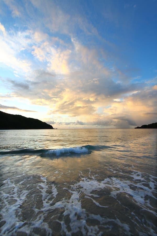 Piwowar zatoka Tortola BVI fotografia stock