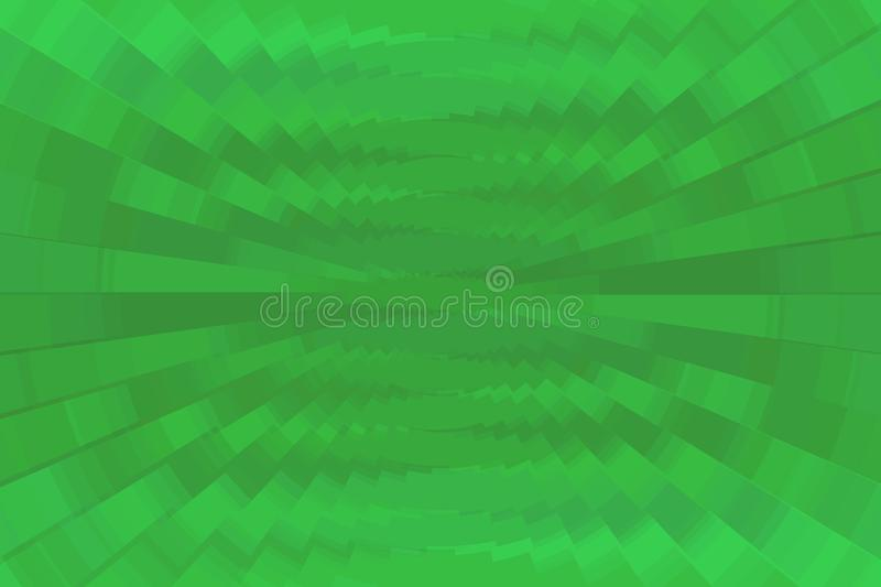 Green rays background royalty free stock image
