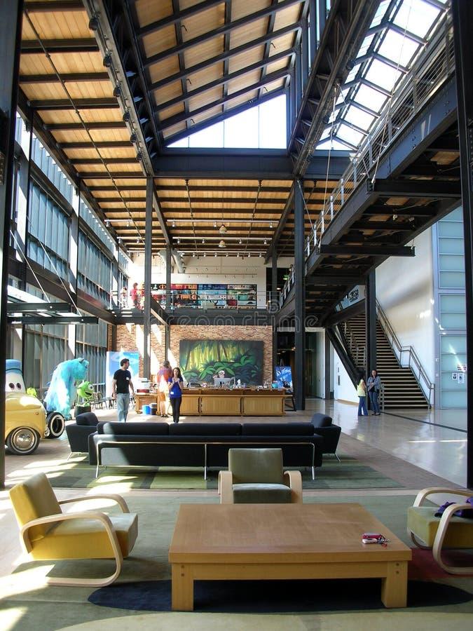 Pixar biura wnętrze zdjęcie royalty free