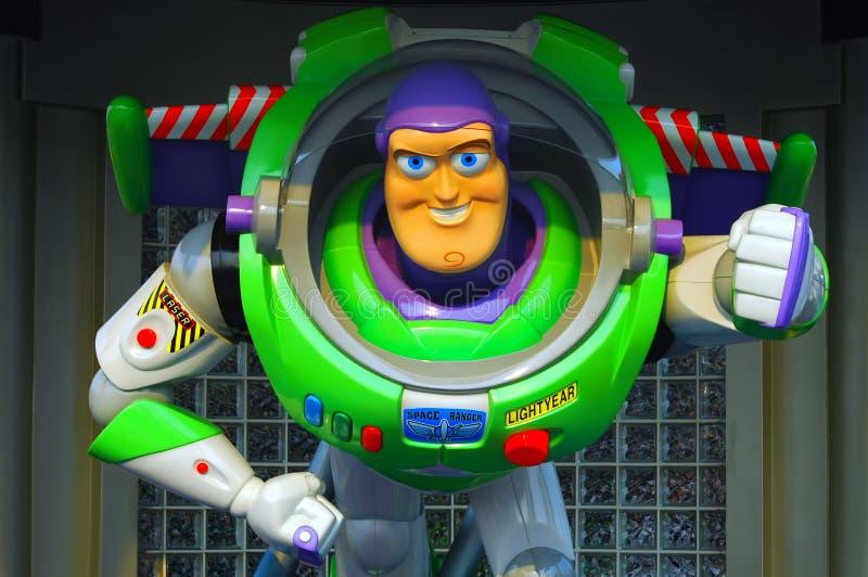 Pixar buzz lightyear. Buzz lightyear statue at Disneyland, hong kong stock photos