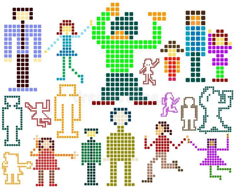 Pixel ; illustration de vecteur