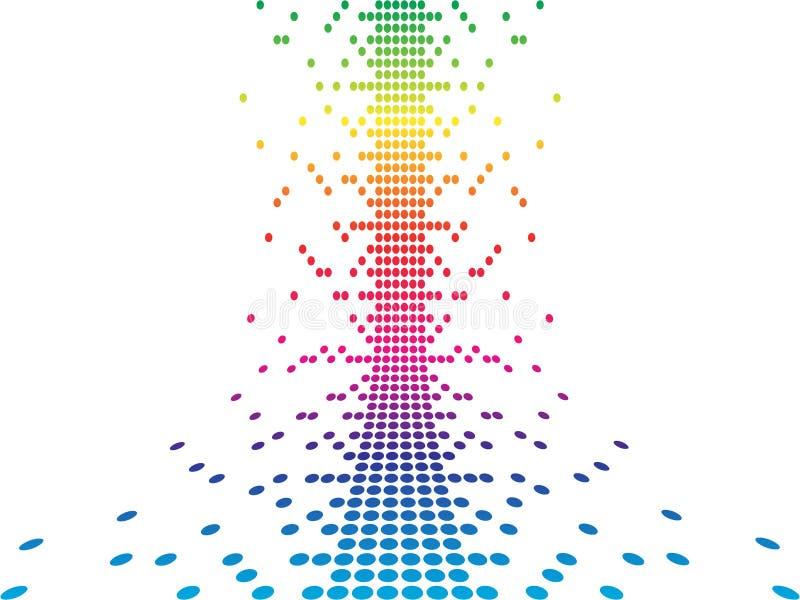 Pixel illustrazione vettoriale