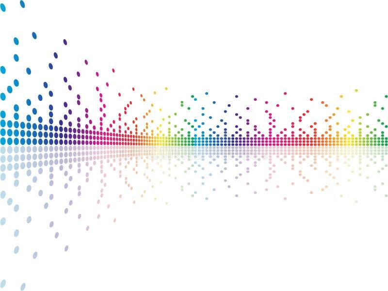 Pixel stock illustratie
