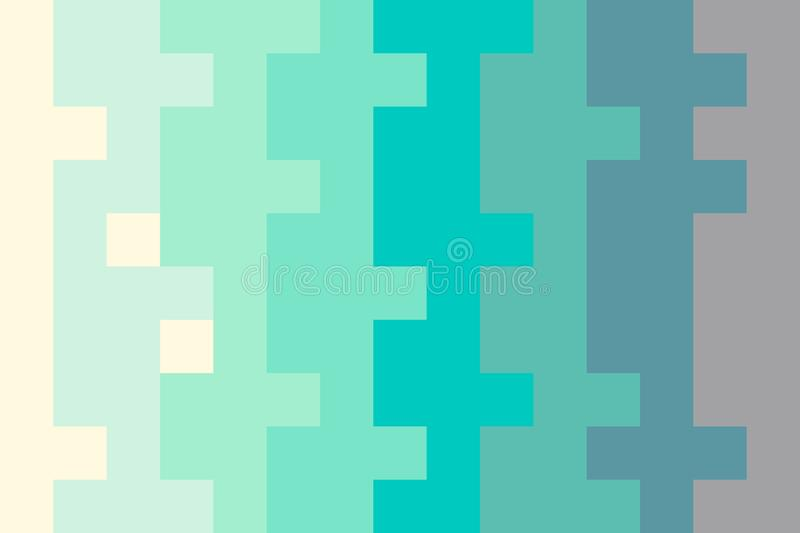 Pixel abstract hand drawn pastel background in minimalistic style royalty free illustration