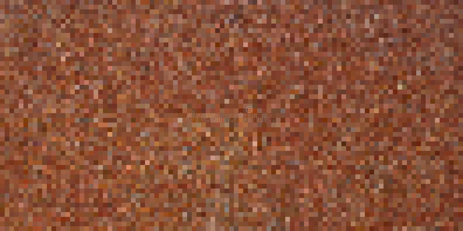 Pixel art background. Vector illustration. Abstract square pixel pattern. Mosaic background stock photo