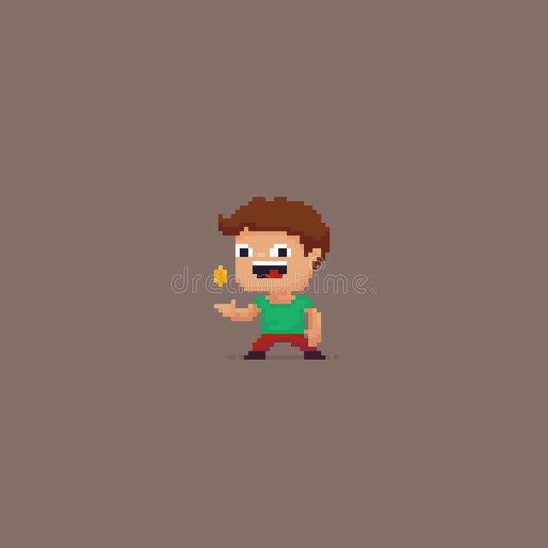 Pixel Art Character illustration libre de droits