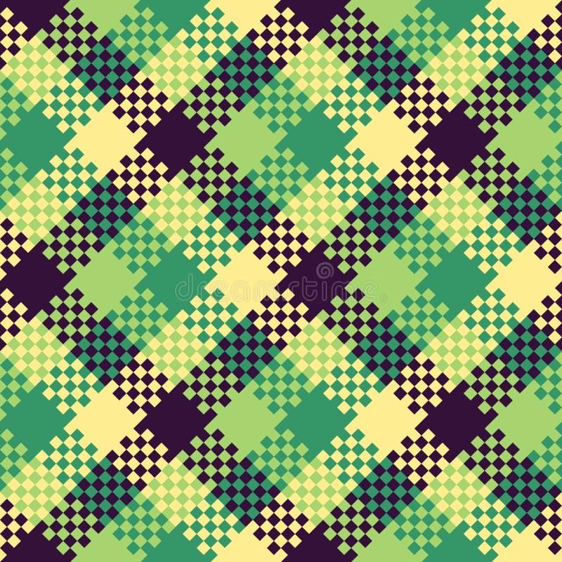 Pixel Art Design : Pixel art design seamless pattern stock vector
