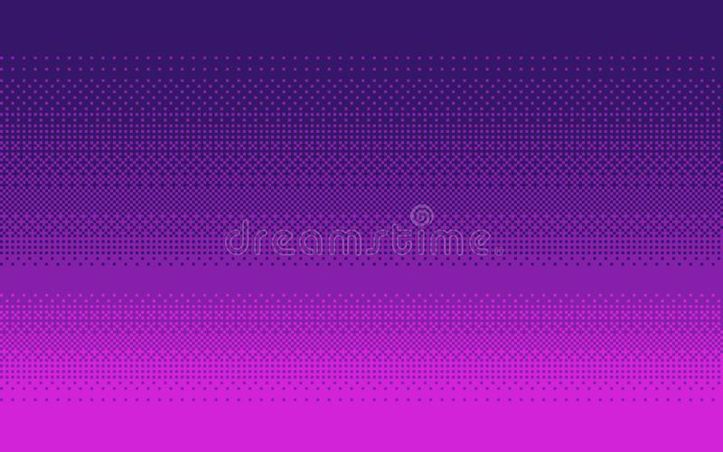 Pixel art gradient color. Dithering vector background. royalty free illustration