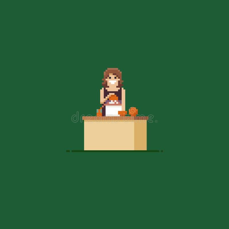 Pixel Art Juice illustration libre de droits