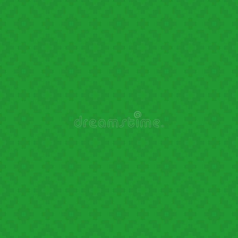 Pixel Art Seamless Pattern de places illustration stock