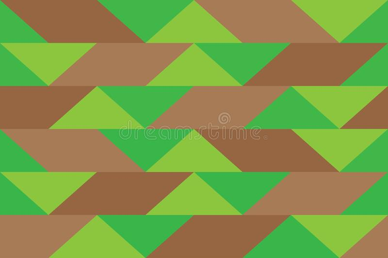 Pixel banner triangle abstract background color pattern gradations stock illustration