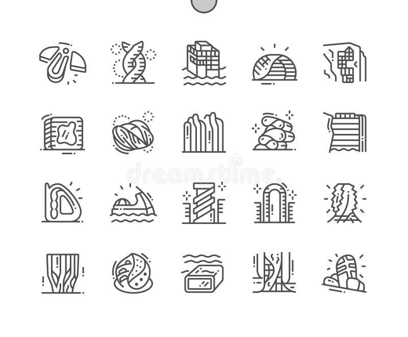 Pixel Ben-elaborato architettura futura perfetto royalty illustrazione gratis