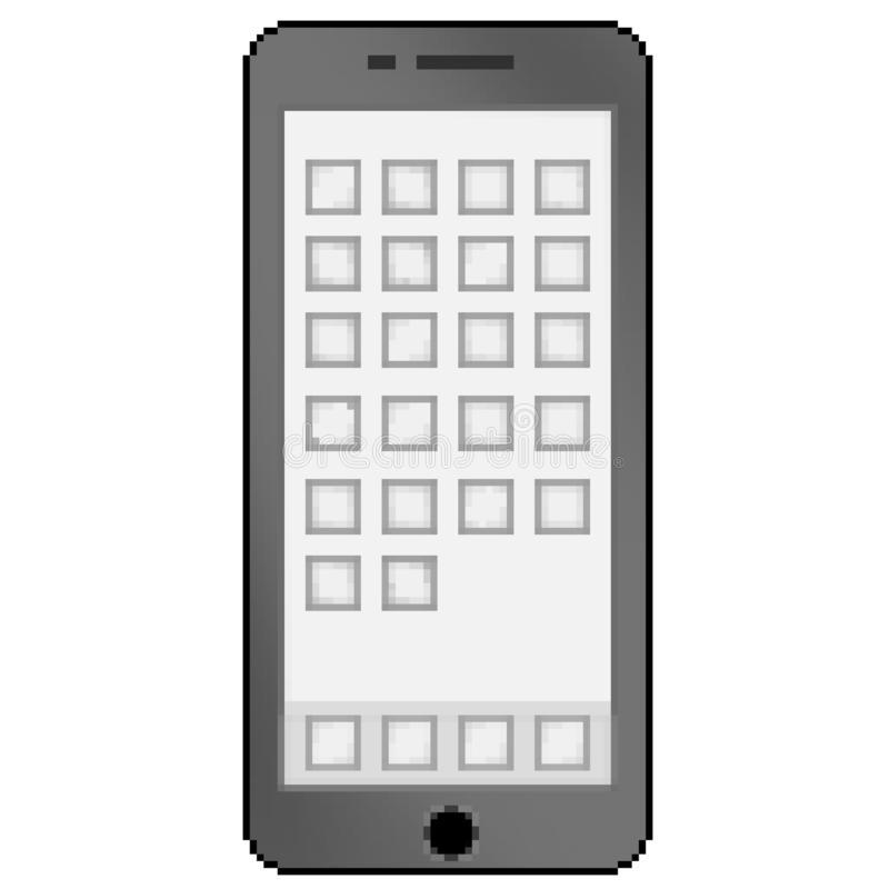 Pixel Art Cell Phone Stock Illustrations – 72 Pixel Art Cell