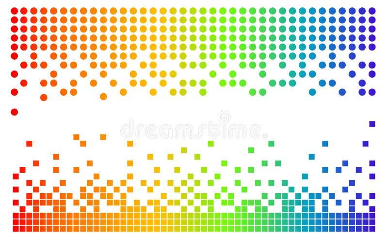 Pixel de vecteur illustration stock