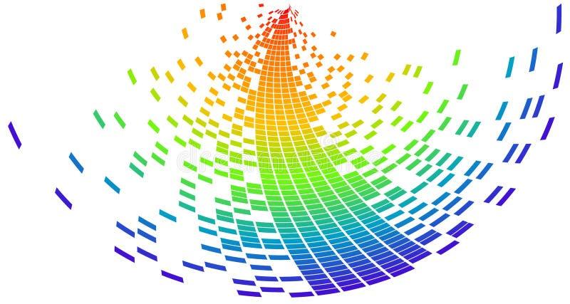 Pixel de vecteur illustration libre de droits