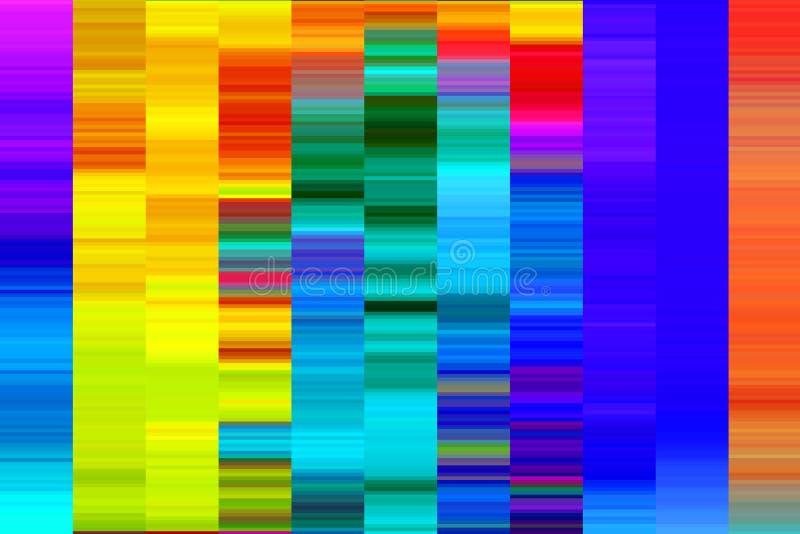 Pixel di colore immagine stock