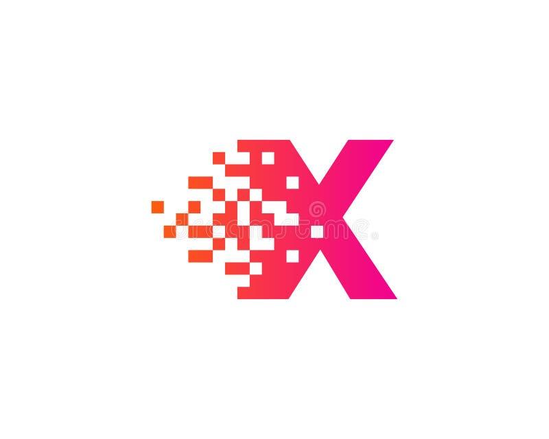 Pixel Ikone Logo Design Element Des Buchstabe X Vektor Abbildung Illustration Von Ikone Element 96097118