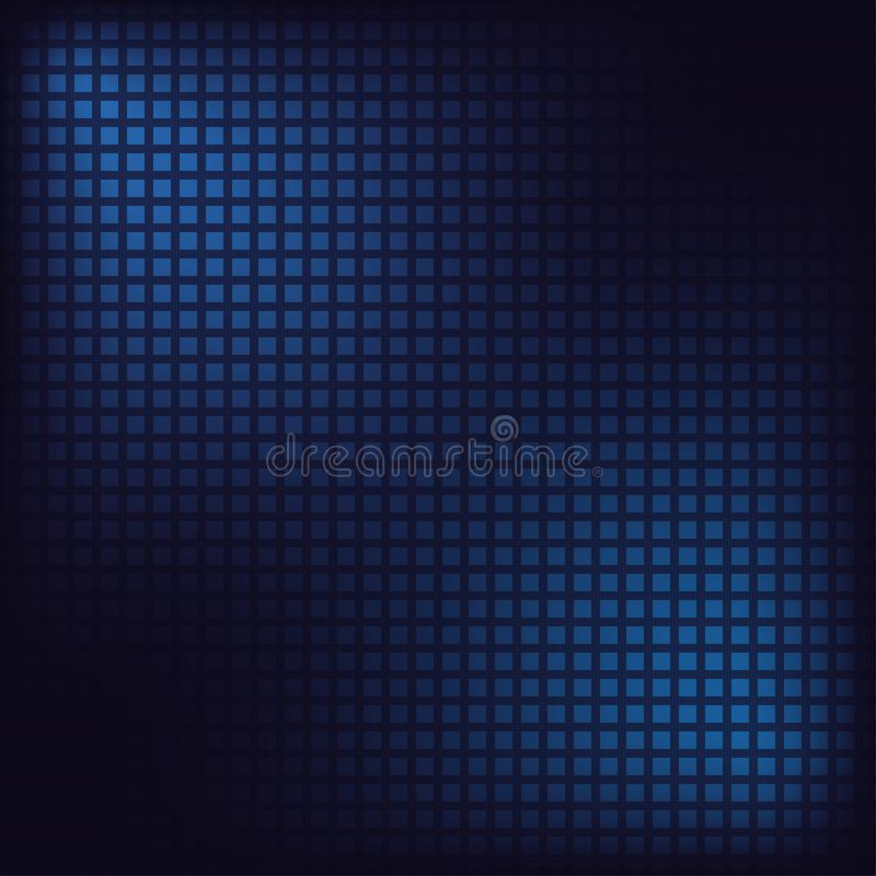 Pixel mosaic background. Blue squares. Digital abstract backdrop. Vector. vector illustration
