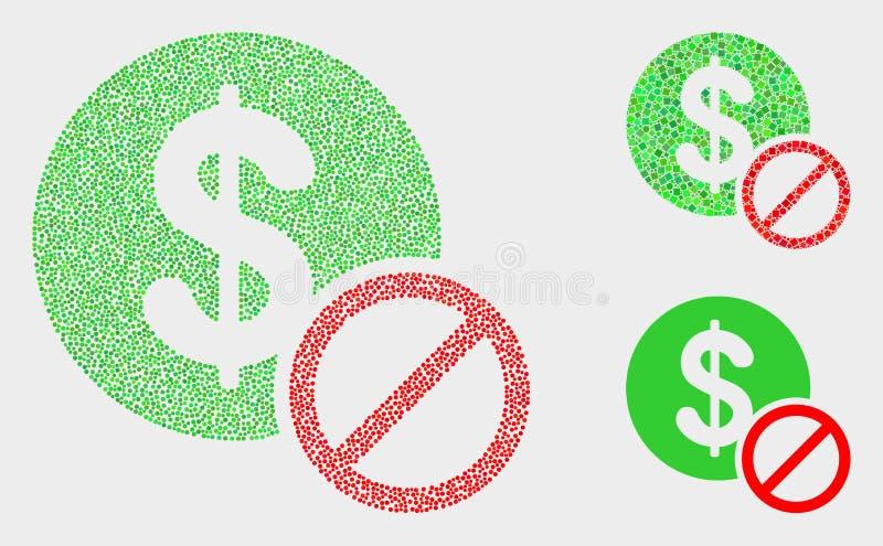 Pixel Vector Priceless Icons stock illustration