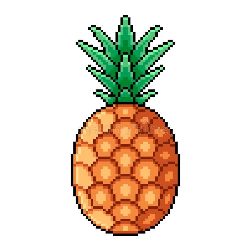 Pineapple Pixel Art Fruit Pixelated Old Game Graphics 8