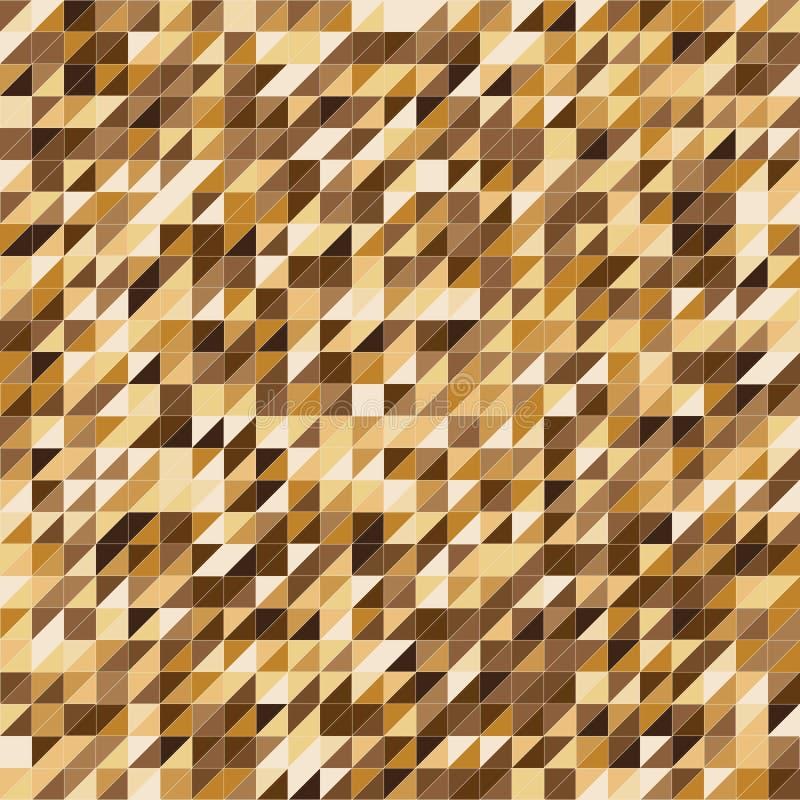 Pixelated金子颜色条纹样式背景 库存例证