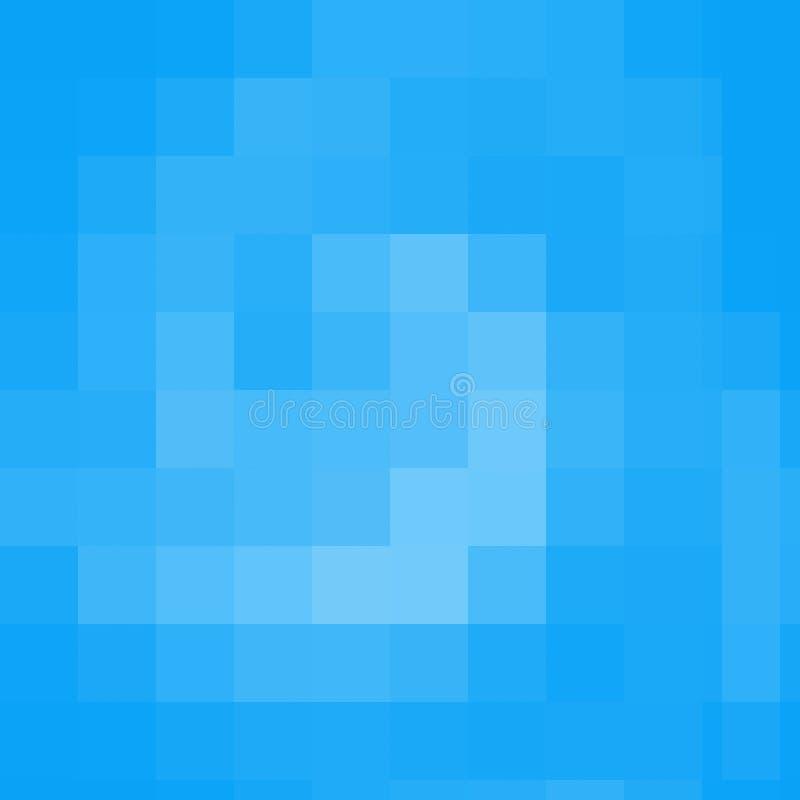 pixelated abstrakt bakgrund royaltyfri illustrationer