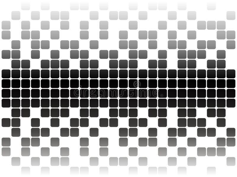 Pixeles stock de ilustración