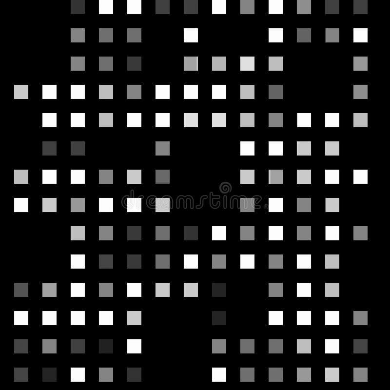 pixeles ilustración del vector