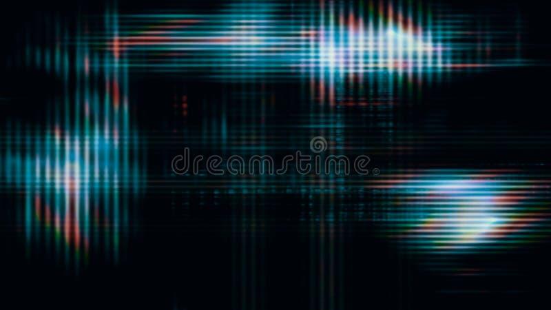 Pixeles futuristas 10563 de la pantalla de visualización ilustración del vector