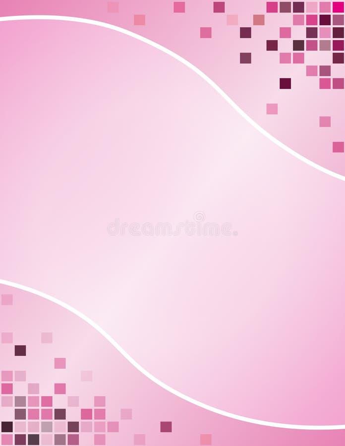 Pixeles rosados imagen de archivo libre de regalías