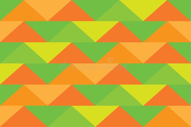 Pixelhintergrunddreieckzusammenfassungsmusterart-Fahnenabstufungen stockfotos