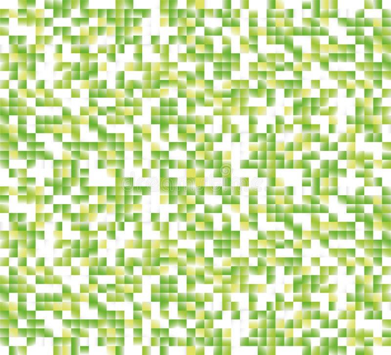 PIXELlutningbakgrund stock illustrationer