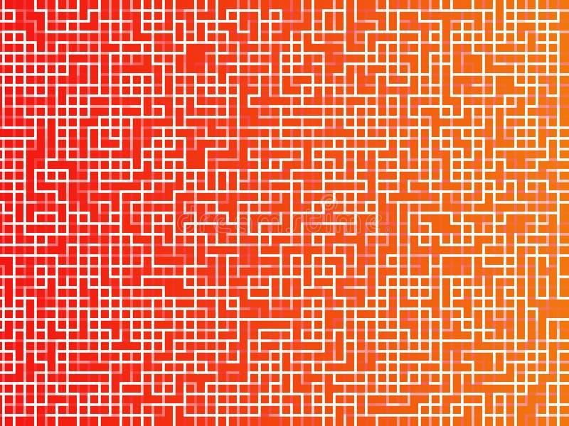 Pixelquadrathintergrund lizenzfreie abbildung