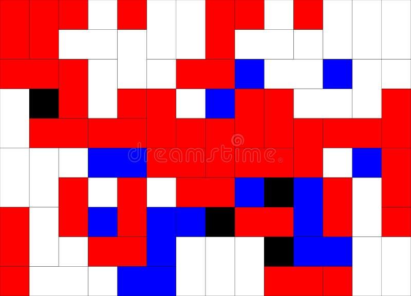 pixels ilustração do vetor