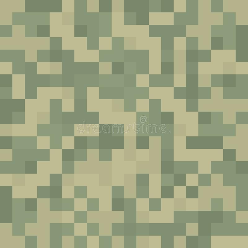 Pixeltarnungs-Beschaffenheitsmuster vektor abbildung